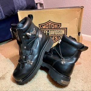 HARLEY DAVIDSON AUTHENTIC *RARE* BOOTS